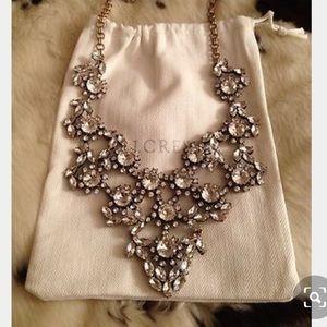 J. Crew Crystal Wedding Necklace